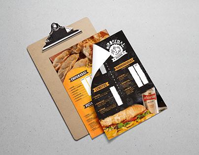 elRosedal | fast food menu