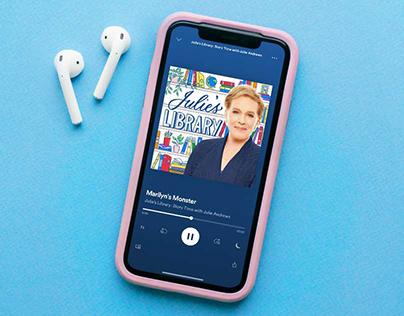 Julie's Library Podcast Artwork
