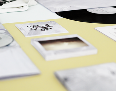 Music visual identity - CD ALBUM - Thomas Mignot