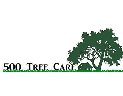 500 Tree Care Brand Identity