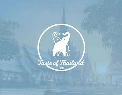 Taste of Thailand - Logo Design