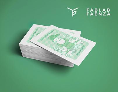 FabLab Faenza Membership Card