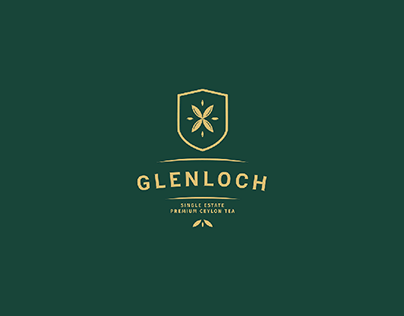Glenloch Tea Factory - Rebranding Concept