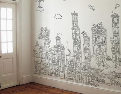 Printed Wallpaper Murals