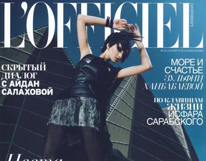 L'OFFICIEL september issue editorial