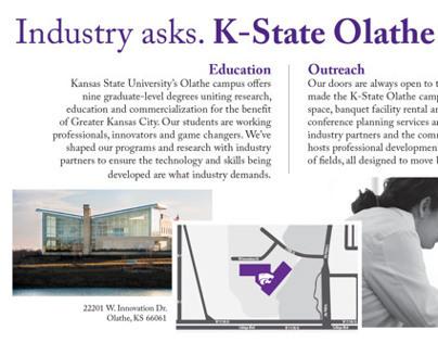 K-State Olathe ad for Overland Park Chamber