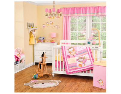 Fairy Monkey Bedding Collection