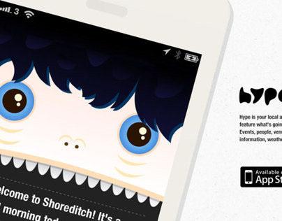 Hype! - iOS app