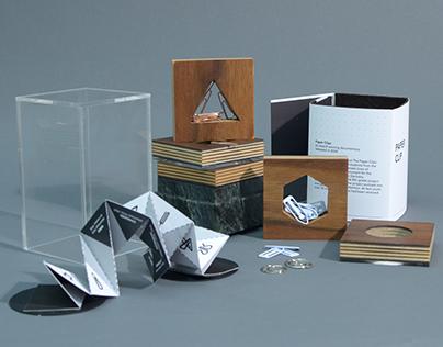 Paper clip Collection Box
