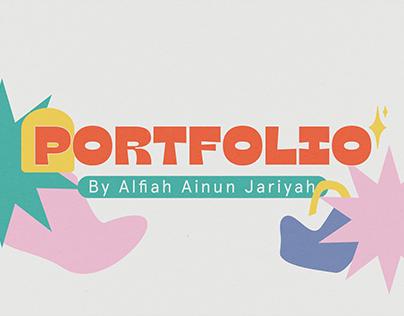 Portfolio // Alfiah Ainun