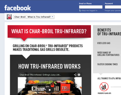 Char-Broil Facebook Apps