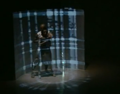 """Transkrypcje"" - dance theatre visuals"