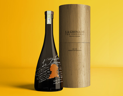 Packaging and label design for caribbean liqueurs