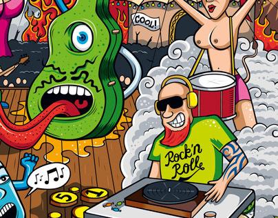 Playluggage Art wallpaper