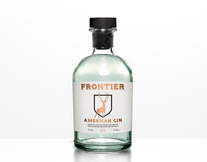 Frontier American Gin Branding