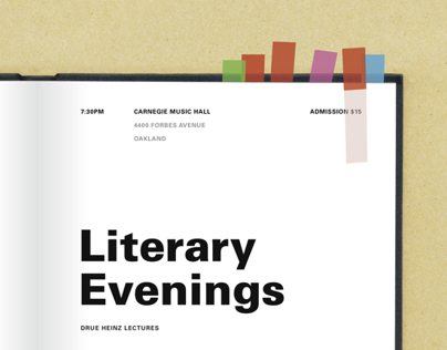 Literary Evenings