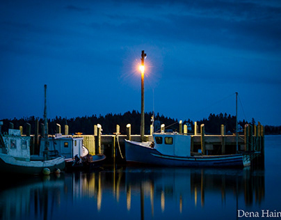 Blue hour is the time immediately before sunrise