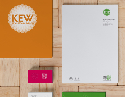 Kew Botanic Gardens rebranding project