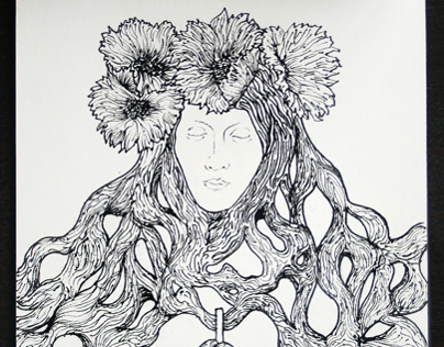 Lalique Pendant #9 Metamorphosis