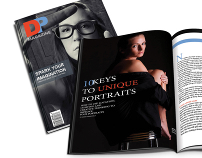Digital Photo Magazine - Minimal Design