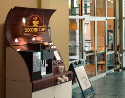 Coffee Kiosk for Constant Cup