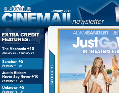 Regal Cinemas - Horizontal Email
