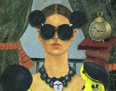 Frida wears Gaga