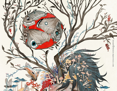 Chang Mong Mo (Day Dreamer) illustration