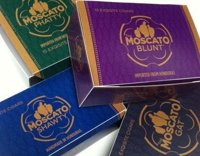 Moscato Cigar Packaging