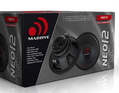 Subwoofer Packing, Giftbox
