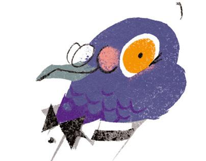 L'œil du pigeon