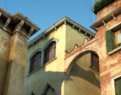 Looking up in Venezia