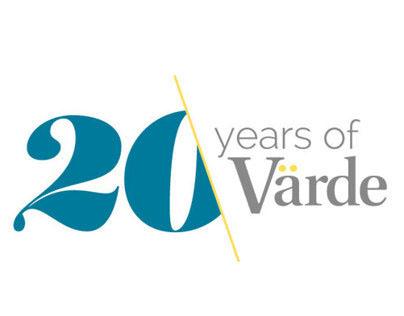 Värde anniversary logo