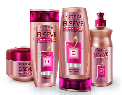 3D ELSEVE L'Oréal Cosmetic Product - Advertising