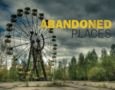Abandoned Places Book