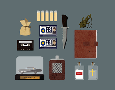 Supernatural Icon Collection