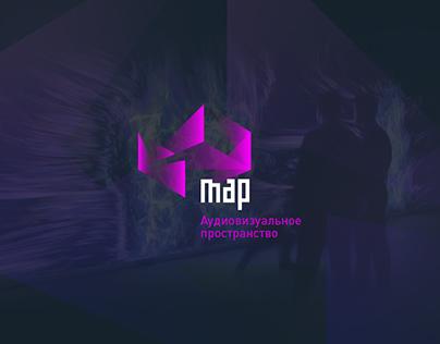 MAP — AV space. Logo concept.