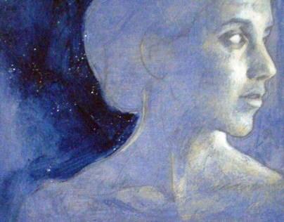 Blue portraits