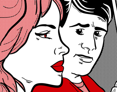 RedEye iPad Retro Comic Campaign