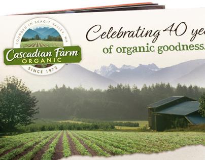 Cascadian Farm® Ad & Wobbler