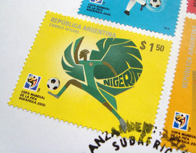 FIFA World Cup 2010 Postage Stamps