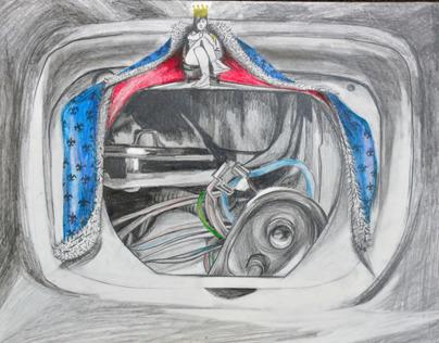 Speed Machines - drawings