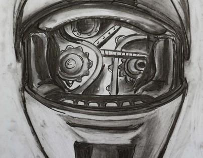 Helmets 2012. - drawings