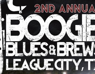 Boogie, Blues and Brews graphic