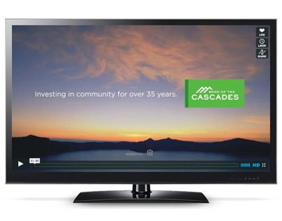 Bank of the Cascades - 2012 TV campaign