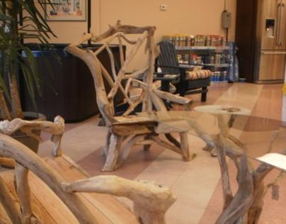 Olympic Storyteller Chair