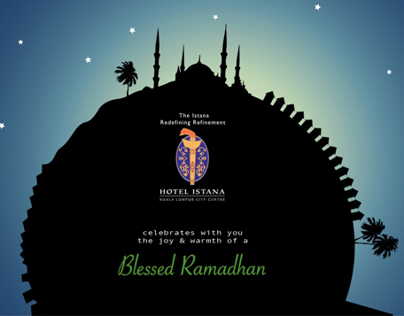Email Footer for Ramadhan and Eid Mubarak