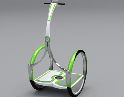 Skoda electro segway concept...