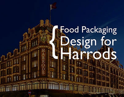 Packaging Design for Harrods