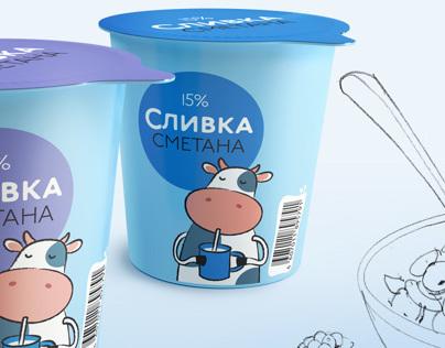Slivka. Milk&butter